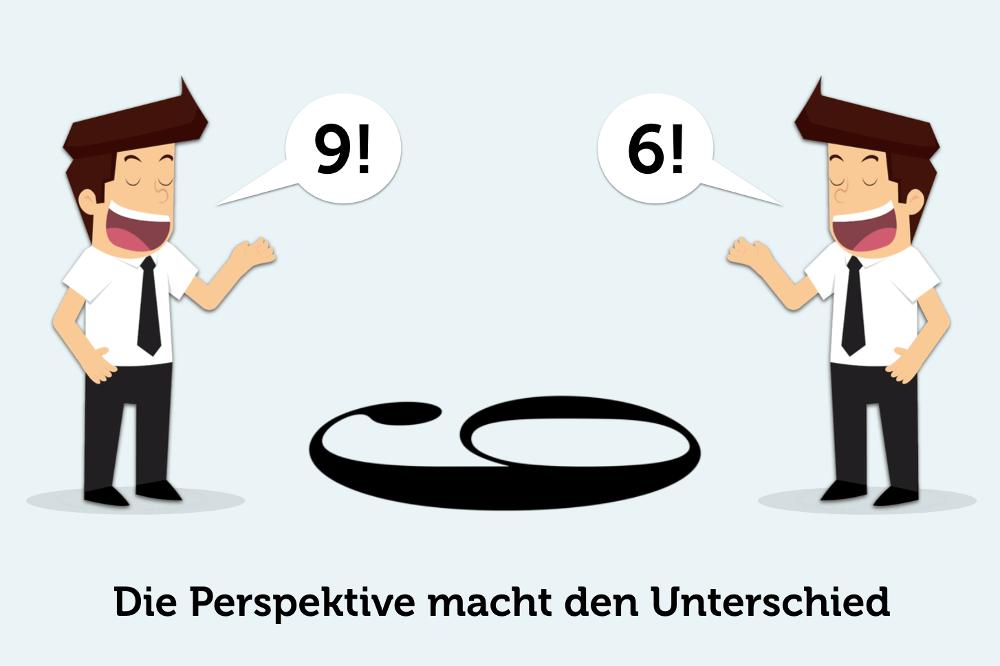 Die Perspektive macht den Unterschied