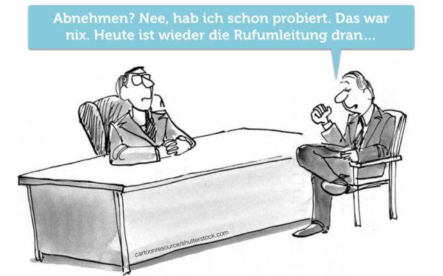 Telefonieren Job Telefon abnehmen Rufumleitung Comic