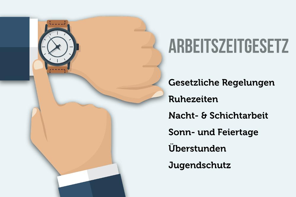 Arbeitszeitgesetz: Maximale Arbeitszeit, Pausen, Überstunden, Ruhezeit