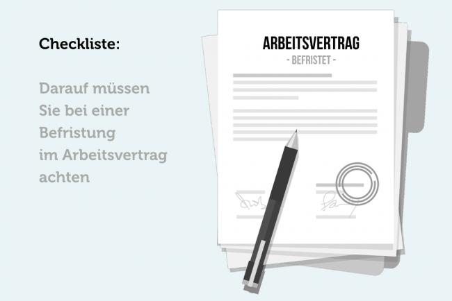 Befristeter Arbeitsvertrag: Checkliste bei Befristung | karrierebibel.de