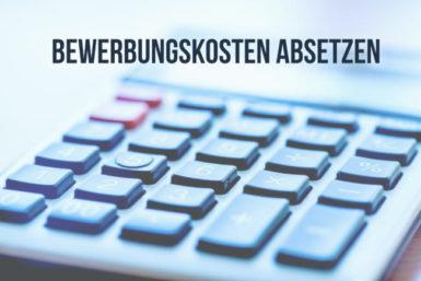 Bewerbungskosten absetzen: Tipps für die Steuererklärung