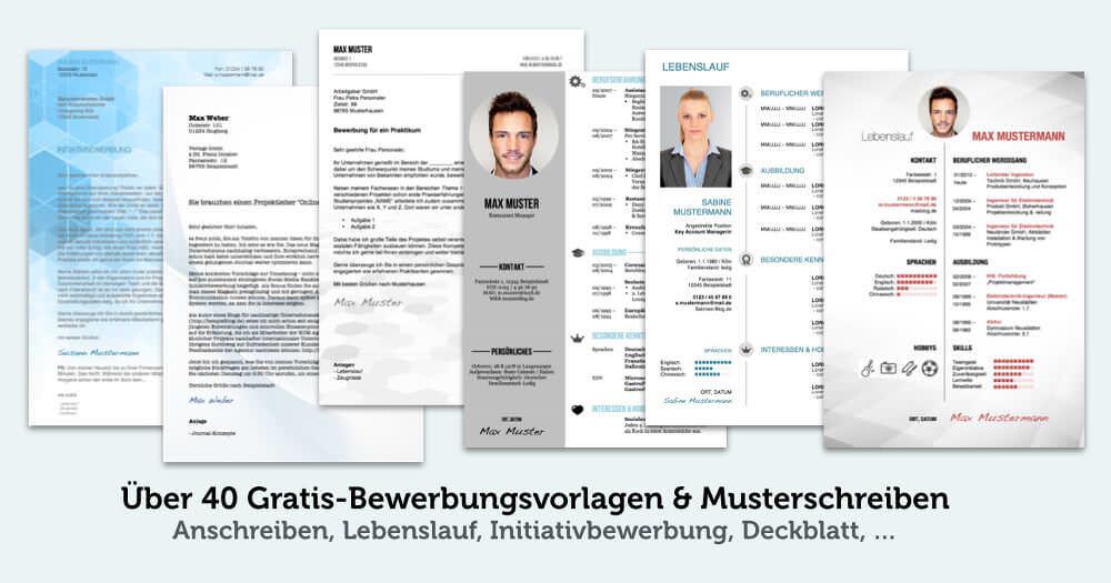 bewerbungsvorlagen teaser kostenlos download - Lebenslauf Agentur Fur Arbeit