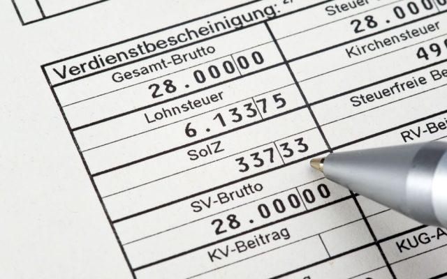 Gehaltsabrechnung Lohn Entgeltabrechnung kostenlos rechnen Beispiel