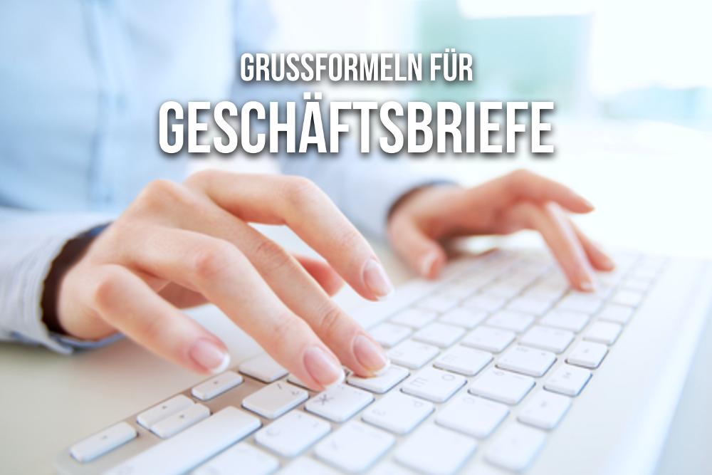 Grußformeln für Geschäftsbriefe: Schöne Grüße | karrierebibel.de