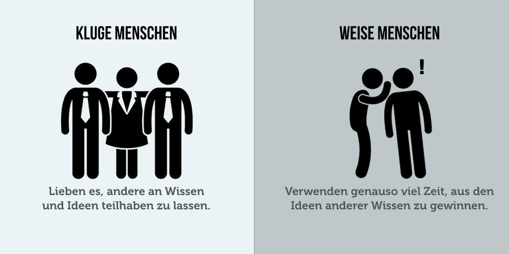 Klug Weise Unterschied Grafik 02