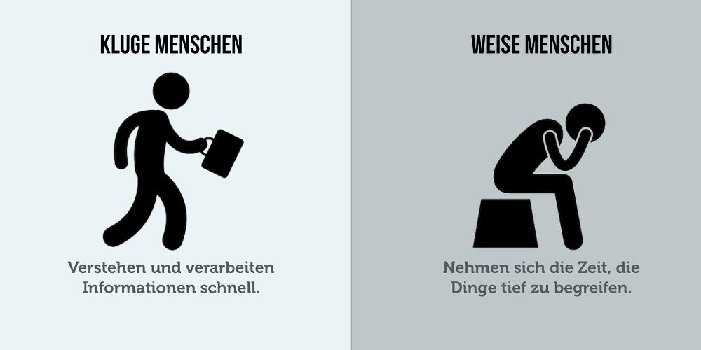 Klug Weise Unterschied Grafik 04