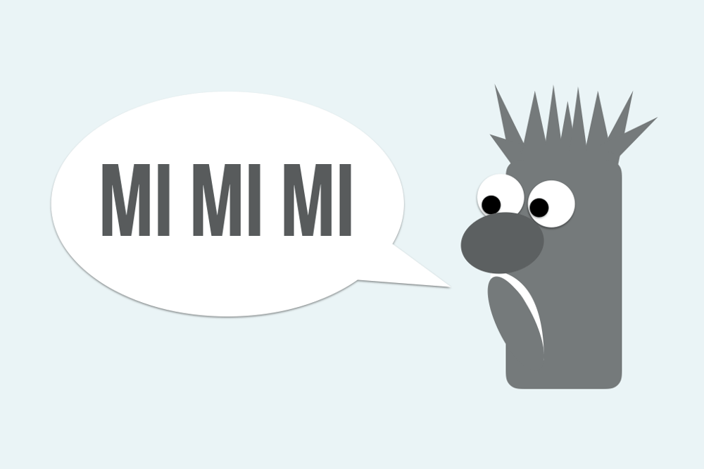Mimimi Jammern im Job Meeper Mimose
