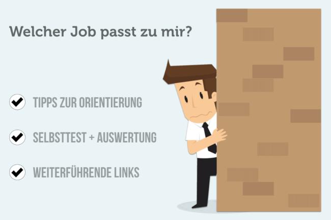 Welcher Job Passt Zu Mir Ein Test Karrierebibelde