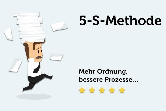 5S-Methode: Mehr Produktivität durch Ordnung