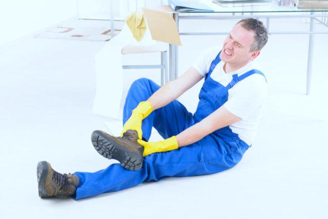 Arbeitsunfall: Was tun?
