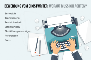 Bewerbung vom Ghostwriter: Darf man das?