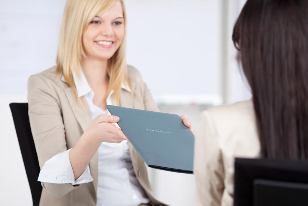 Bewerbungsmappe Unterlagen Bewerbung Tipps