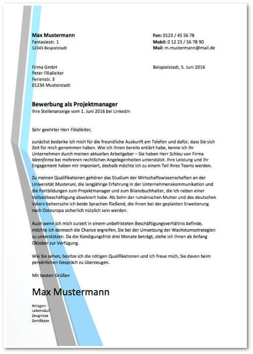 Bewerbungsmuster Anschreiben Arbeitsplatzwechsel kostenlos Bewerbungsschreiben