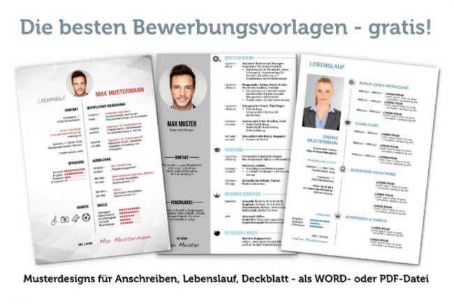 Bewerbung Vordrucke: Kostenlose Word-Muster | karrierebibel.de