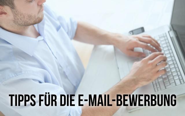 E Mail Bewerbung schreiben Tipps Ratgeber Muster Beispiele