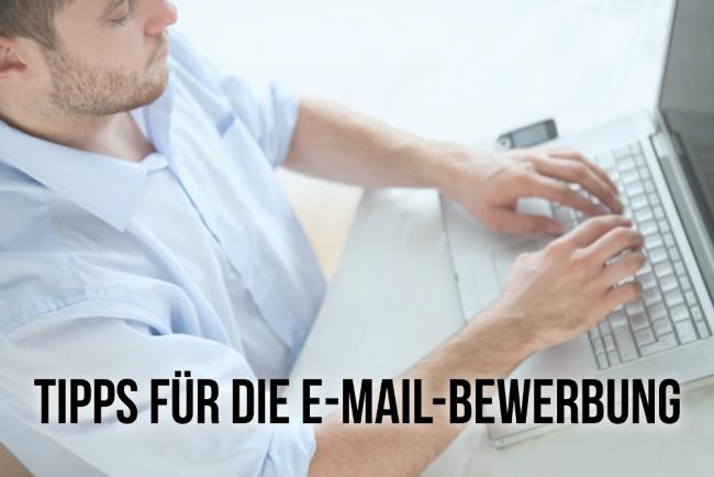 E-Mail-Bewerbung: 10 Tipps, wie Sie diese schreiben