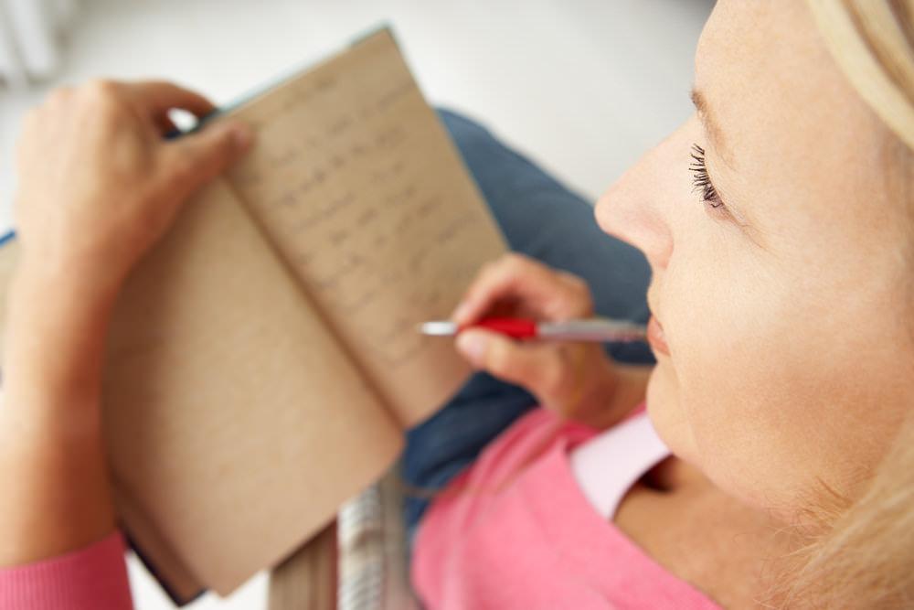 Erfolgstagebuch schreiben Ziele notieren aufschreiben