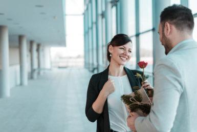 Valentinstag: Die Kunst des Flirtens