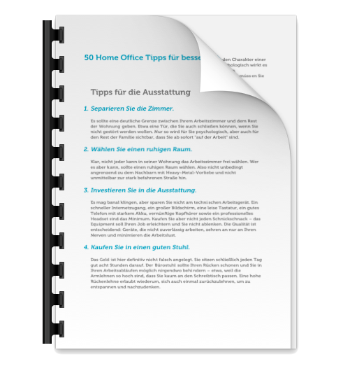 home office tipps download pdf - Home Office Regelung Muster