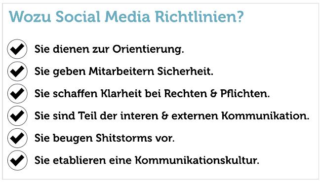 SocialMedia-Richtlinien-Gründe-Wozu