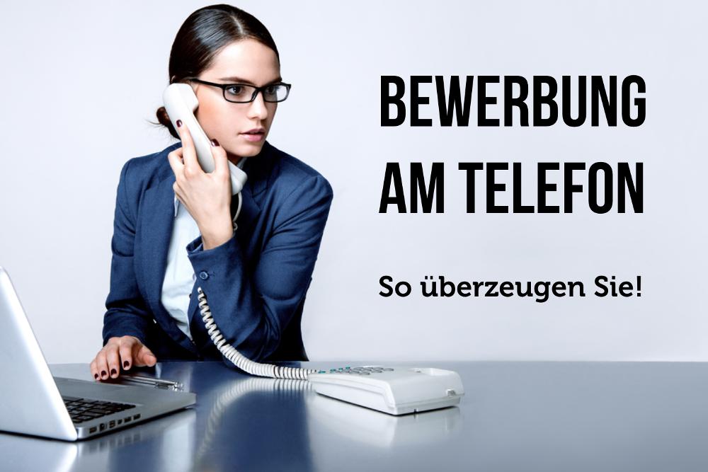 Vorstellungsgespraech am Telefon Telefoninterview Bewerbungstipps