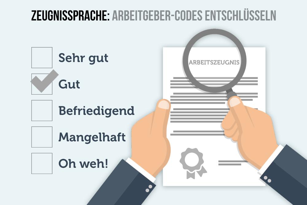 Zeugnissprache Arbeitszeugnis Geheimcodes entschlüsseln