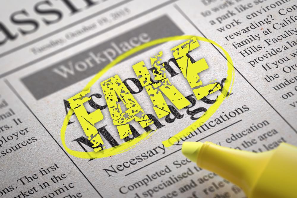 Fake-Stellenanzeigen: Identitätsklau bei der Jobsuche