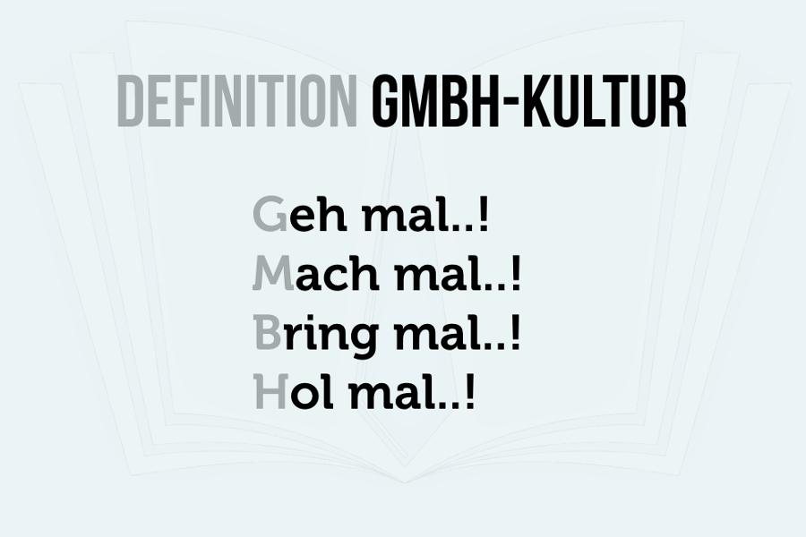 GmbH-Kultur