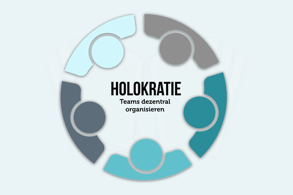 Holokratie Definition dezentral agile Organisation