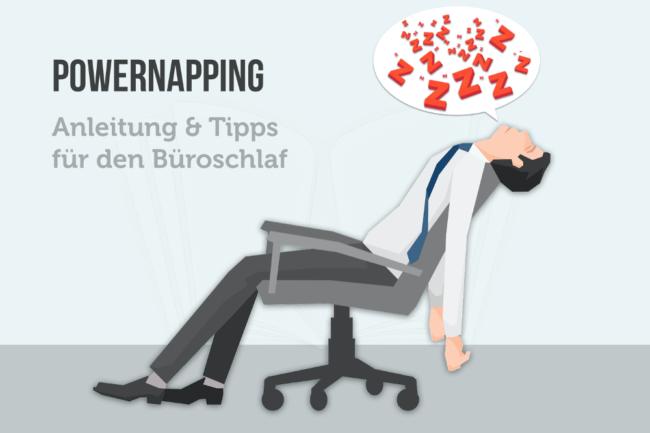 Powernapping: Anleitung und Tipps