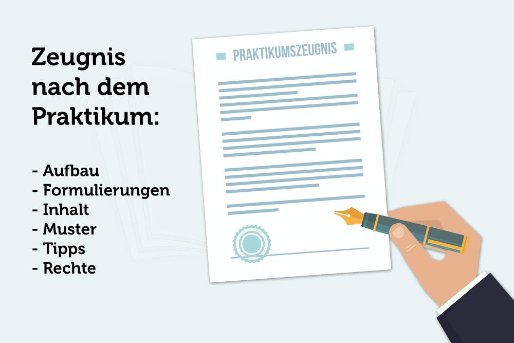 Praktikumszeugnis: Formulierungen, Inhalt, Muster | karrierebibel.de