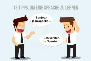Sprache lernen: 13 effektive Tipps