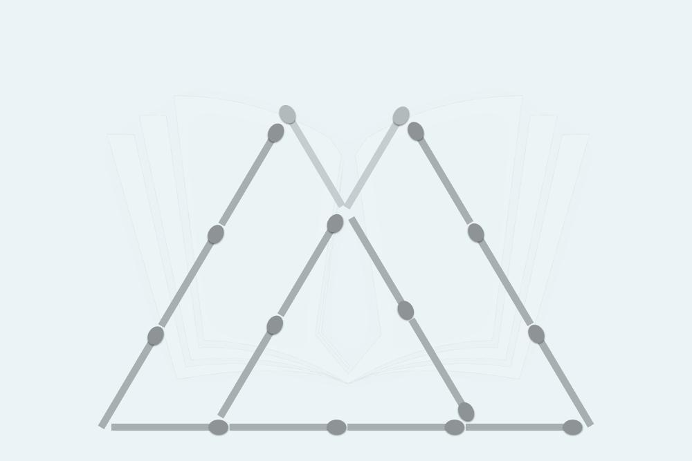 Streichholzrätsel Dreiecke Lösung