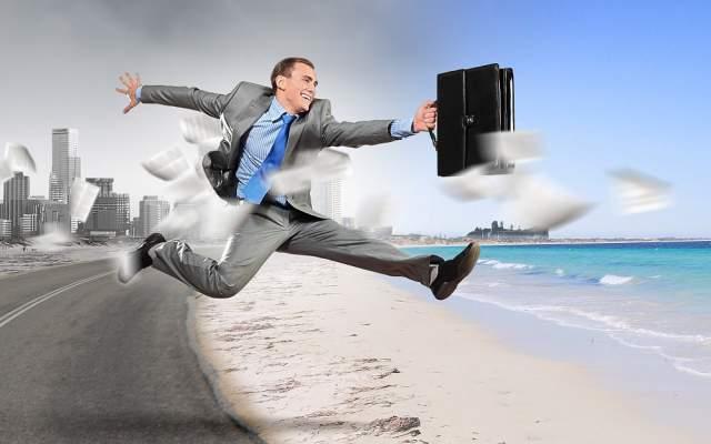Aussteiger Aussteigen Job kuendigen Freiheit raus Erholung