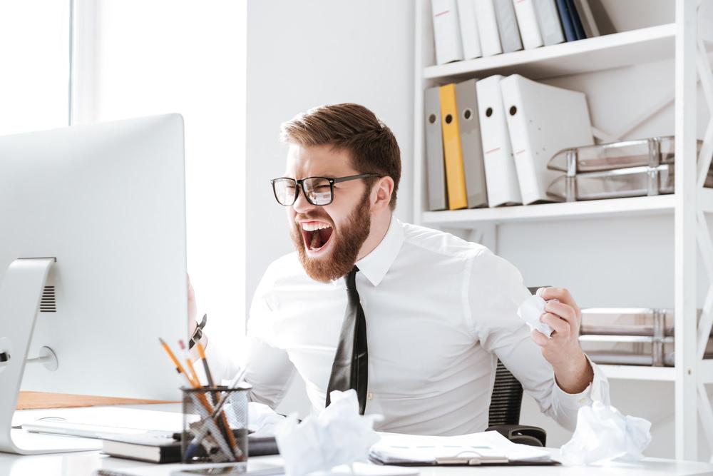 Frust im Job
