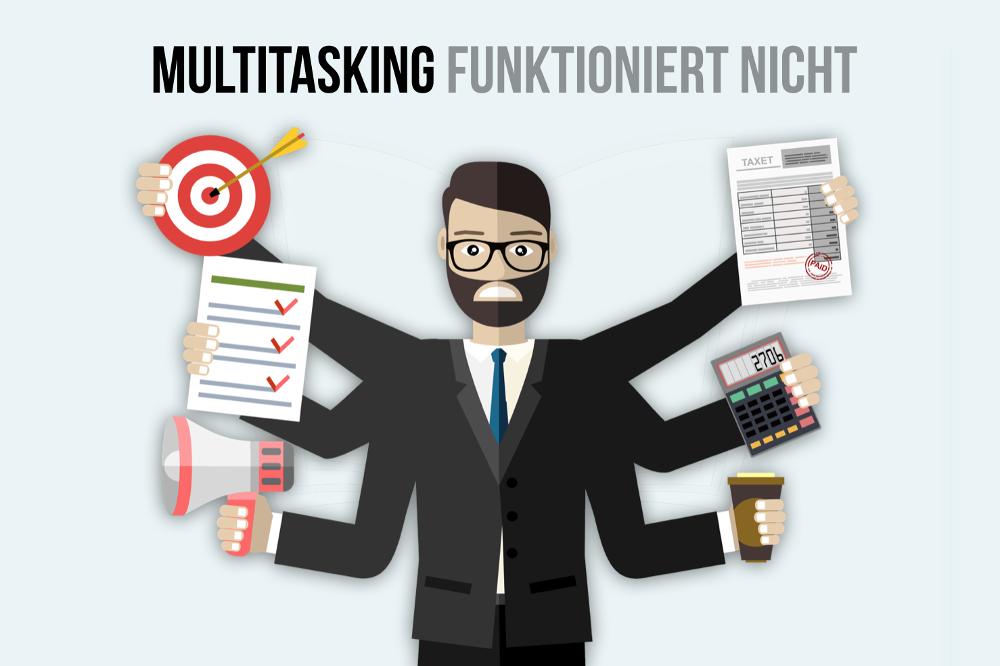 Multitasking funktioniert nicht