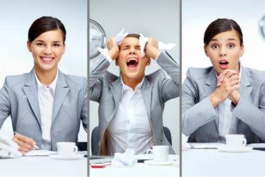 Die 7 Emotionen jedes Vorstellungsgesprächs