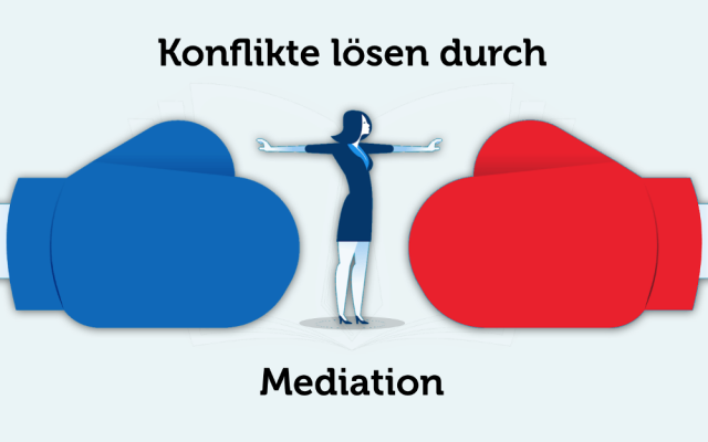 Mediation Definition Ablauf Bedeutung Phasen Konflikte loesen klaeren Streit schlichten