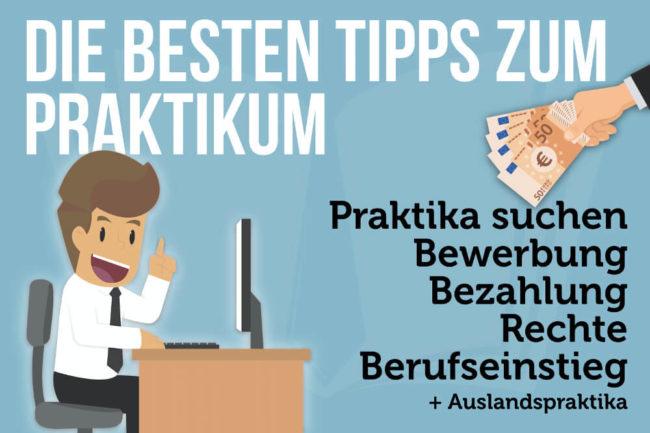 Praktikum: Tipps zu Bewerbung, Bezahlung & Berufseinstieg