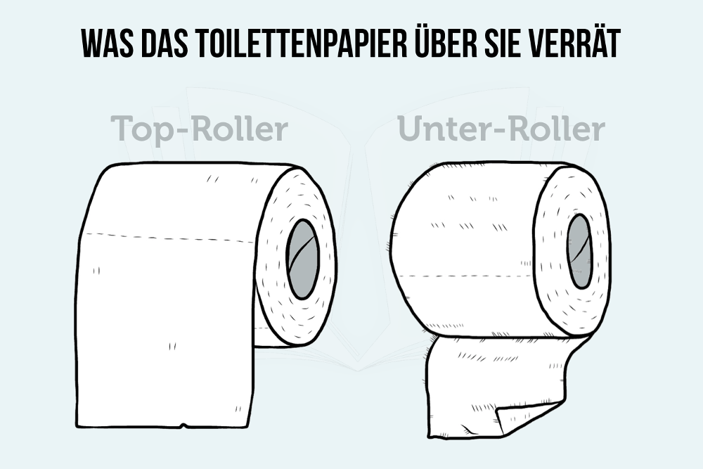 Was das Toilettenpapier über Sie verrät
