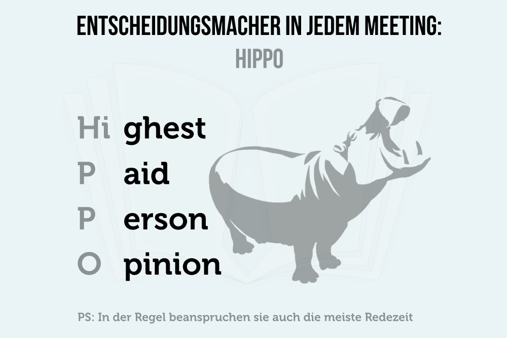 Hippo Meeting Highest Paid Person Opinion