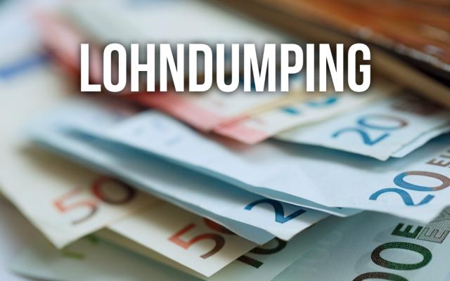 Lohndumping Niedriglohn Ausbeutung Gehalt