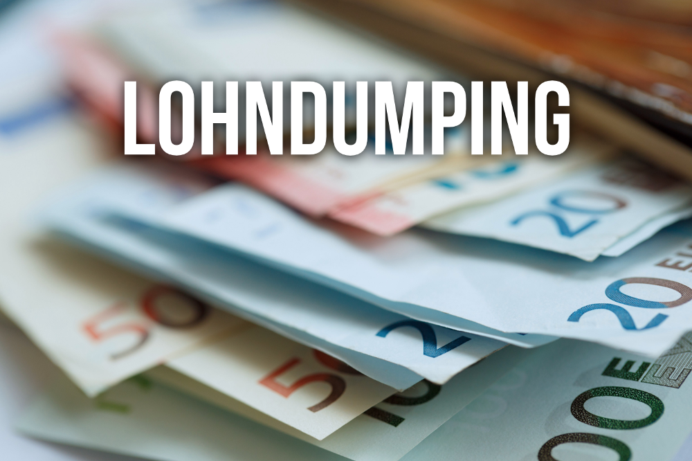 Lohndumping: Was Sie wissen sollten
