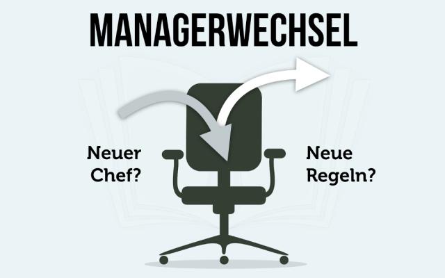 Managerwechsel neuer Chef Fuehrungskraft neue Regeln