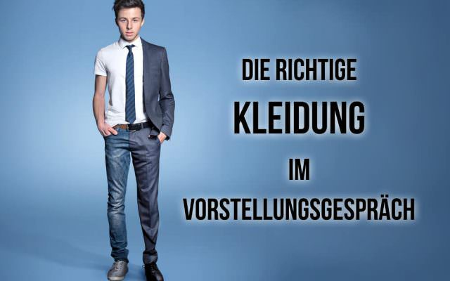 Vorstellungsgespraech Kleidung Mann Frau Schuhe Dresscode Cover