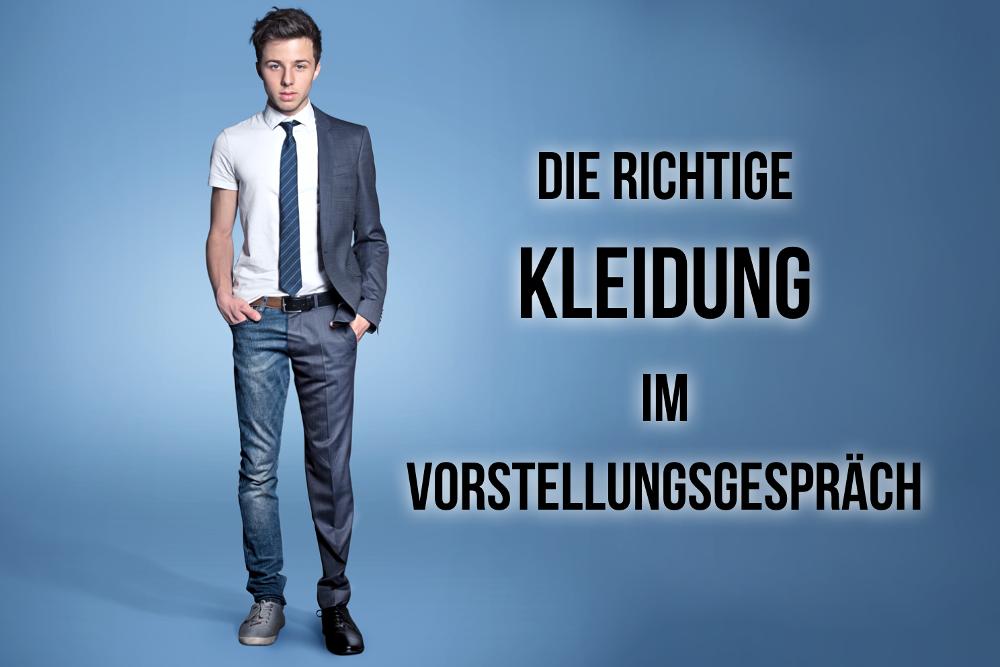 Vorstellungsgespraech Kleidung Mann Frau Schuhe Dresscode