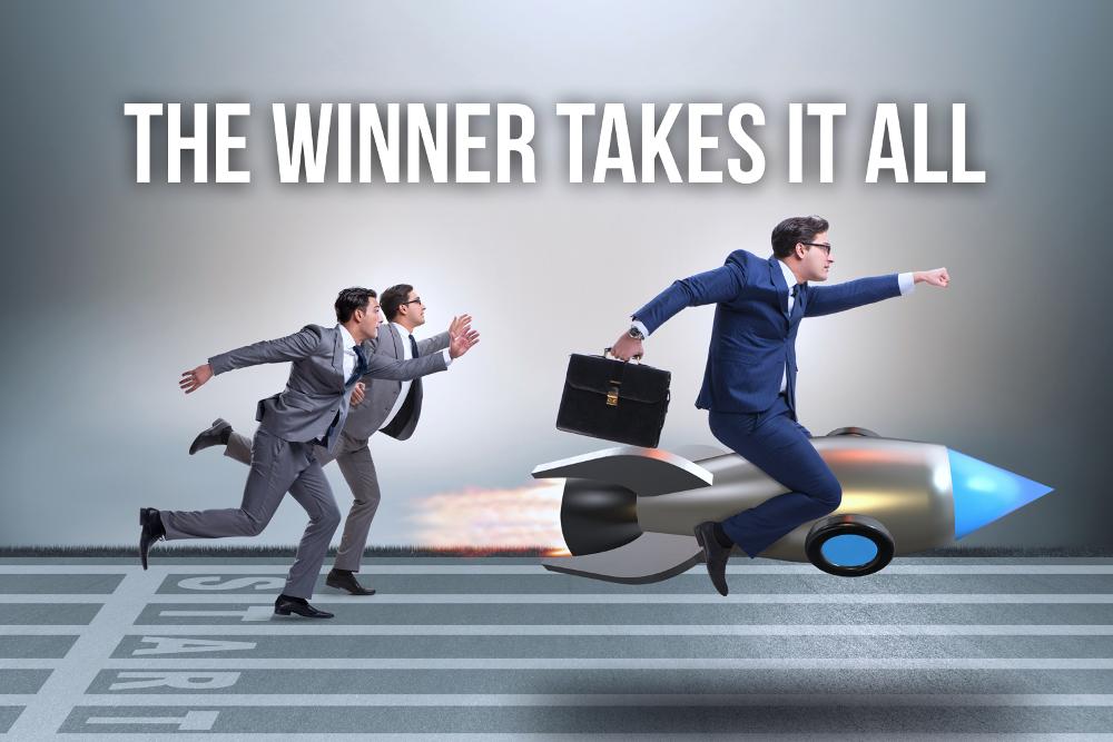 Winner takes it all Effekt kumulativer Vorteil 1 Prozent Regel