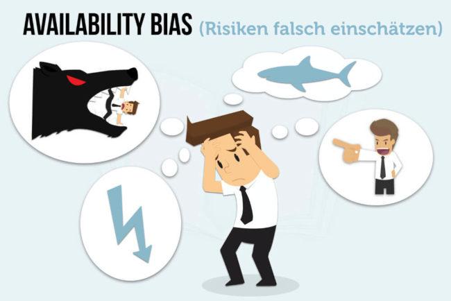 Availability Bias: Deshalb schätzen wir Gefahren falsch ein