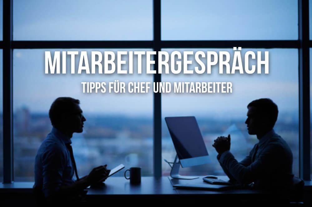 Mitarbeitergespraech Feedback Jahresgespraech Tipps Dialog Leitfaden Tipps