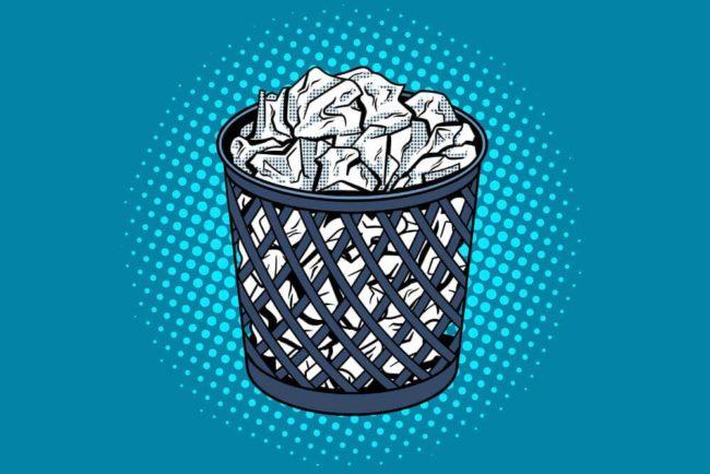 Arbeit für den Papierkorb: So demotiviert es Sie